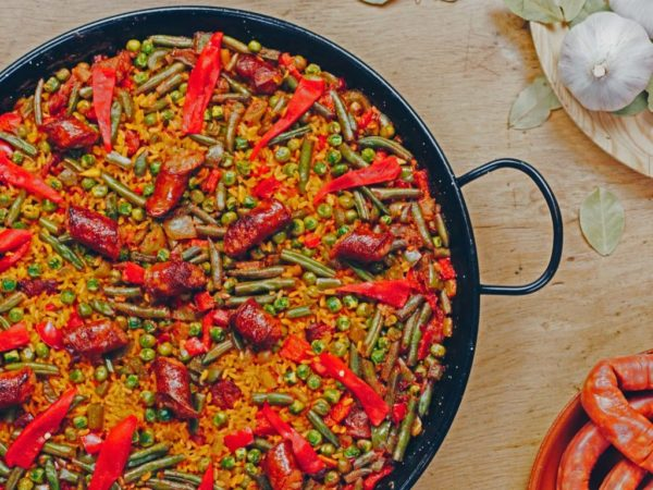 arroz chistorra rijst chorizo