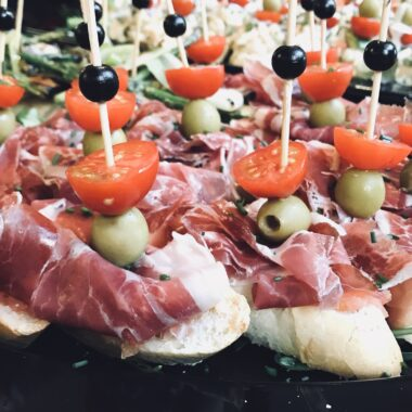Pinchos met vlees