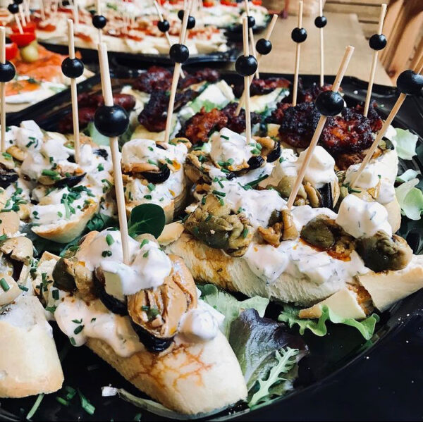 pinchos met vis